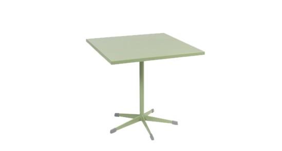 Gartentisch der Serie Zürich in der Farbe Mint