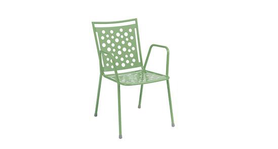 Gartenstuhl der Serie Kopenhagen in der Farbe Mint