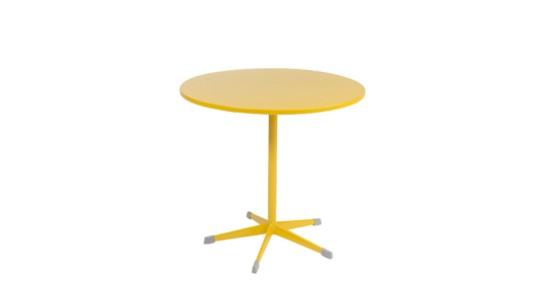 Gartentisch der Serie Zürich in der Farbe Honig