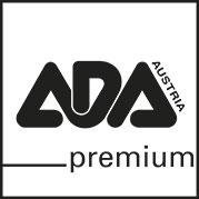 Ada Premium Logo in schwarz