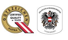 Gütezeichen Qualitätszeichen