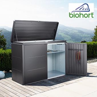 Biohort HighBoard in der Farbe dunkelgrau-metallic